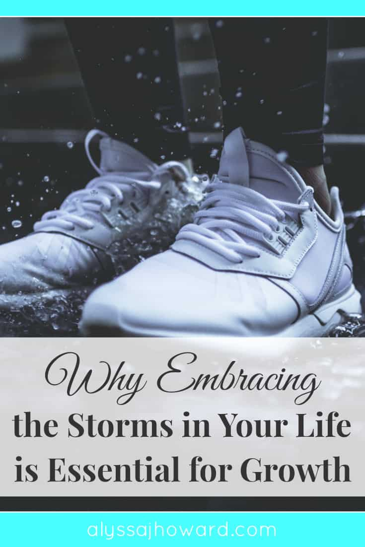 Why Embracing the Storms in Your Life is Essential for Growth | alyssajhoward.com