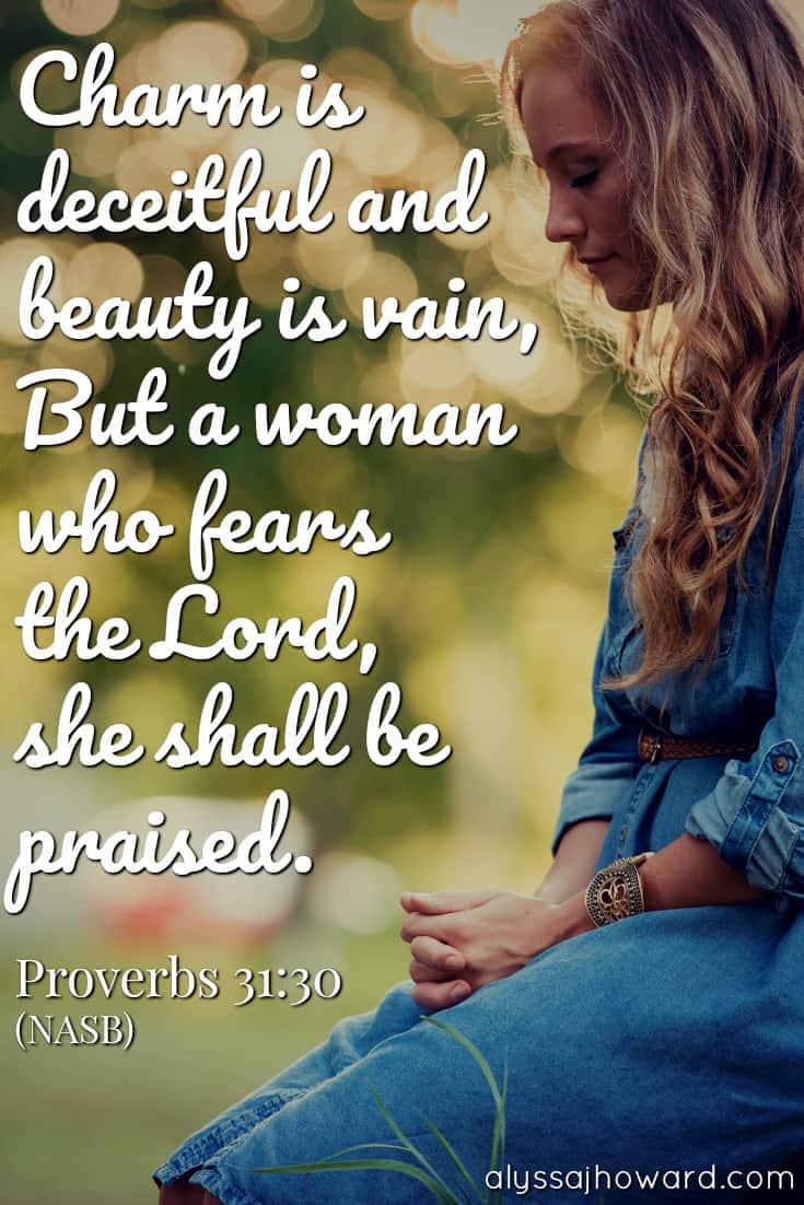 A Realistic Look at the Proverbs 31 Woman | alyssajhoward.com