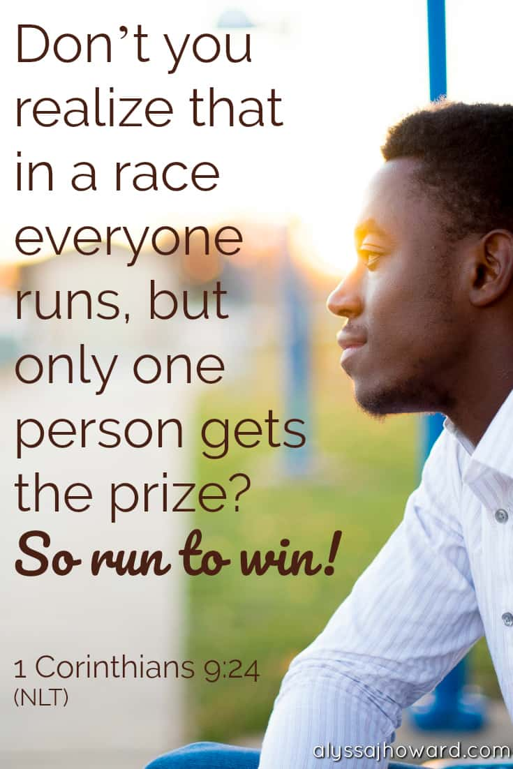 Racing to Win: 5 Principles That Will Prepare You for Ministry | alyssajhoward.com