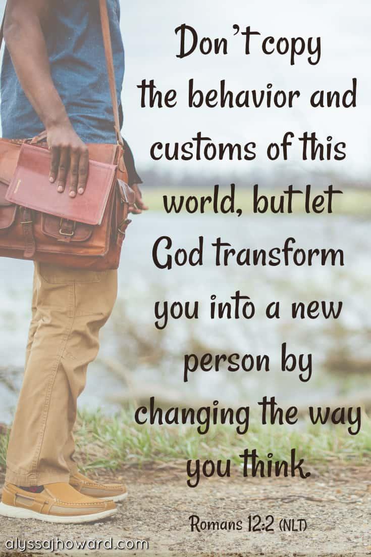 Are We Giving the World Something Worth Imitating? | alyssajhoward.com