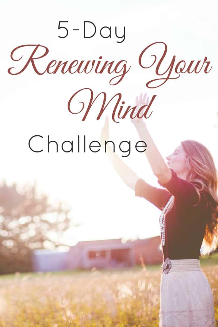 5-Day Renewing Your Mind Challenge | alyssajhoward.com