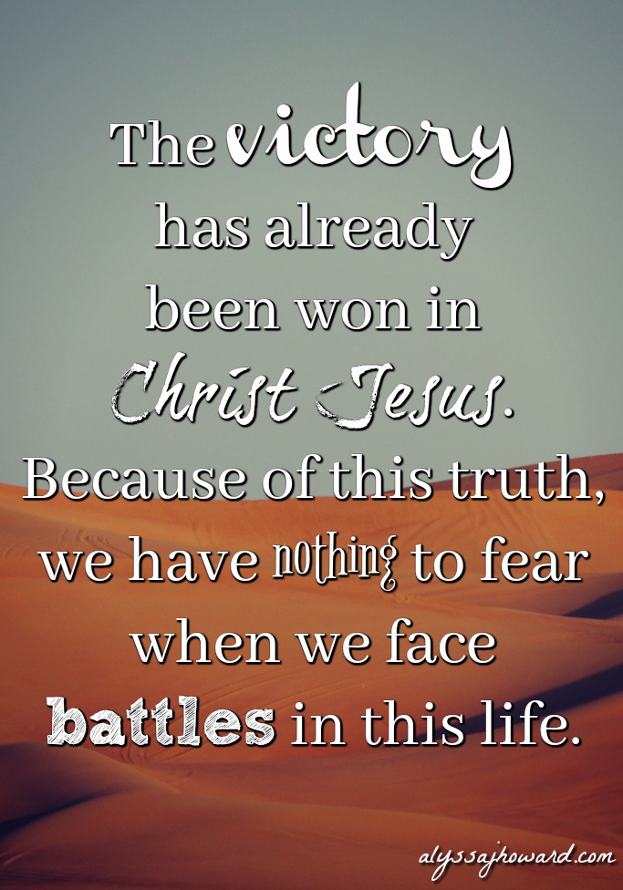 Our Battles Belong to the Lord: 5 Truths We Can Learn from the Israelites   alyssajhoward.com