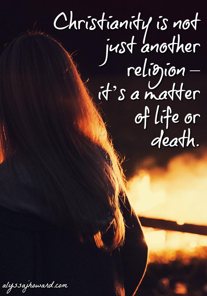 The Burning Building: A Matter of Life or Death | alyssajhoward.com