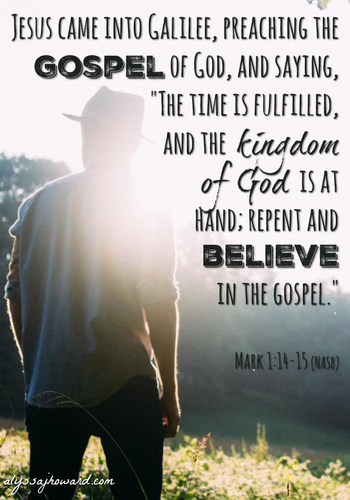 4 Christian Terms That Are Often Misunderstood: The Gospel of Christ   alyssajhoward.com
