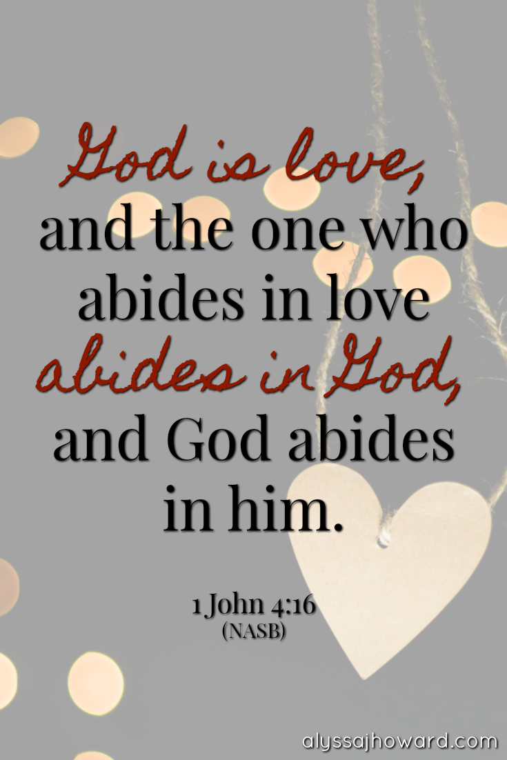 Created for Love: Designed in the Image of Our Loving Father   alyssajhoward.com