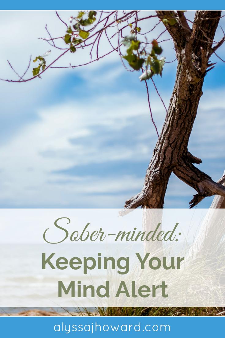 Sober-minded: Keeping Your Mind Alert | alyssajhoward.com