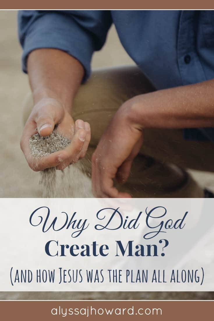 Why Did God Create Man? (and how Jesus was the plan all along) | alyssajhoward.com