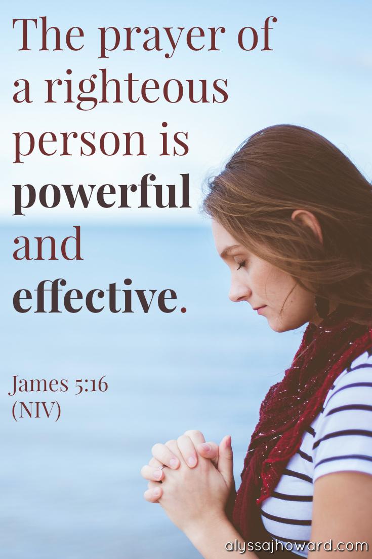Dare to Pray Big: The Power of Prayer in the Unseen Realm | alyssajhoward.com