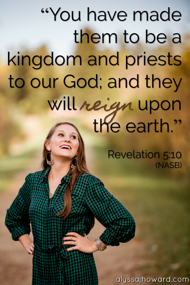 Royalty in Christ: Finding Rest in Who God Created You to Be | alyssajhoward.com
