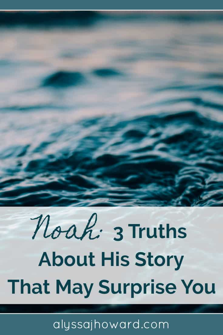 Noah: 3 Truths About His Story That May Surprise You | alyssajhoward.com