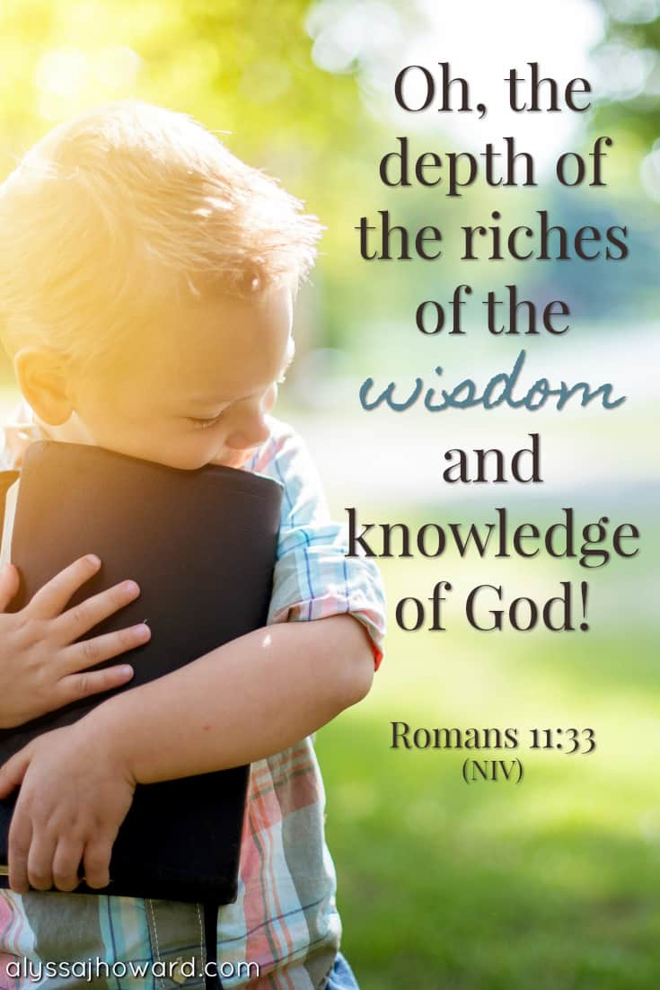 4 Reasons Why the Wisdom of God is Superior to the Wisdom of Man | alyssajhoward.com