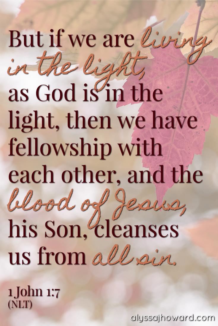 Declared Righteous: You Are No Longer a Sinner | alyssajhoward.com