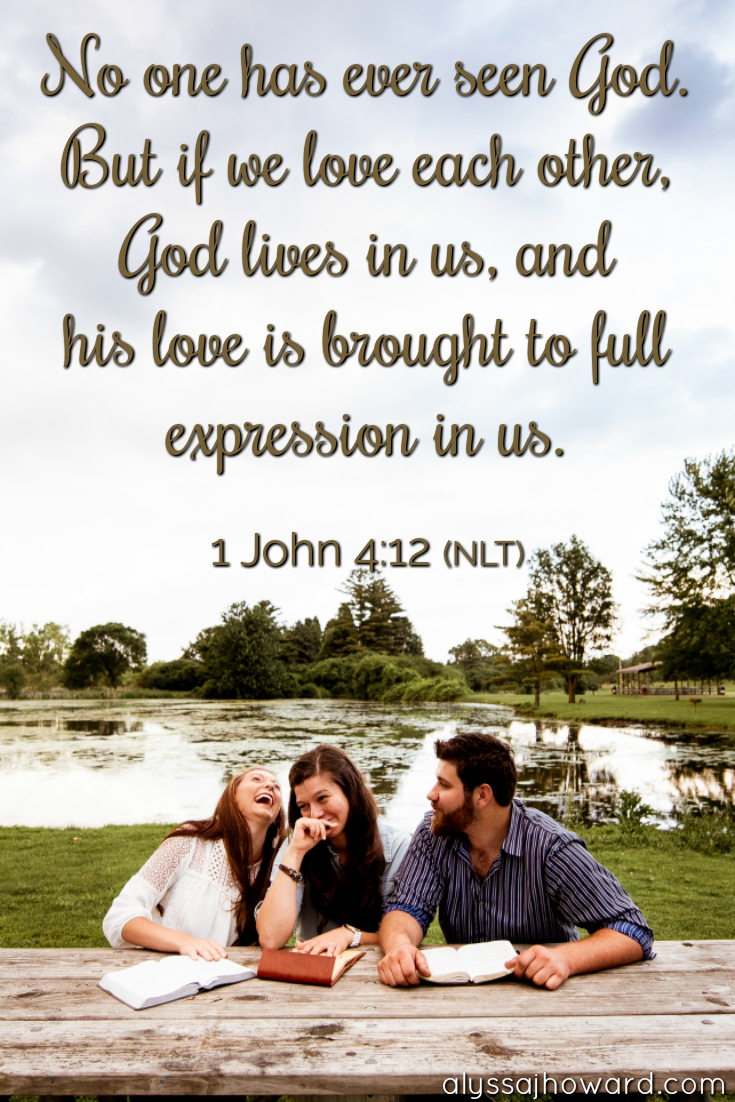They Will Know Us By Our Love Living as the Family of God   alyssajhoward.com